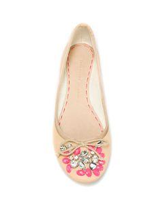 BALLERINA WITH GARNITURE - Woman - Shoes - ZARA