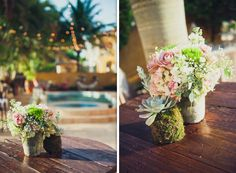 Jessica and Cooper's Engagement Party Event Planner- Sari Sosa Events Photographer- Miguel Ocque Rentals- Mi Vintage Floral Decor- Avant-Gardens