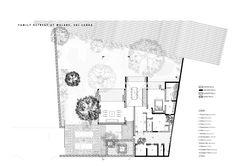 Image 7 of 9 from gallery of Family Retreat for Devasiris / Palinda Kannangara Architects. Photograph by Sebastian Posingis Small Villa, Concrete Wall, Sri Lanka, House Plans, Floor Plans, How To Plan, Gallery, International Style, Wood Floor