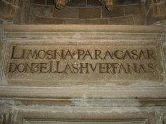 Visto en la catedral de Ávila
