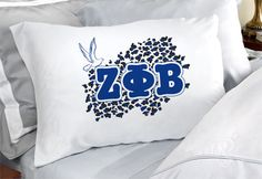 Zeta Phi Beta Sorority Pillowcases $12.95