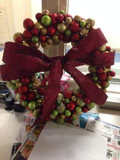 DIY wreath...