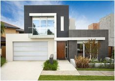 HOUSE FACADES AND HOME INTERIORS: MODERN FACADE - SUSTAINABLE HOUSES