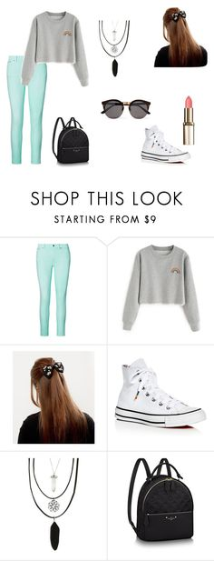"""N°34"" by carmis-leon on Polyvore featuring moda, Ralph Lauren, Converse, Hot Topic y Illesteva"