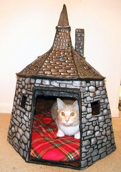 Hagrid's Hut: I want this, but bigger so I can get a big dog and name it Fluffy and it can live here. :-)