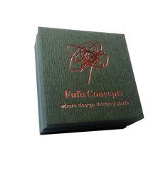 Rose Gold Foil Business Cards