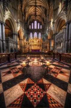 I wrote a blog about #HDR Photography in Churches and Cathedrals and included lots of new images.