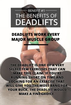 The Benefits of Deadlifting: See Them All Here