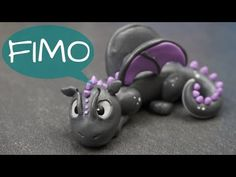 Drachen Dame ~ Fimo / Polymerclay / Tutorial