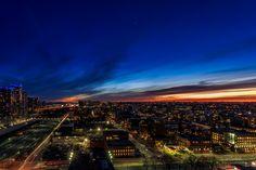 Sunset Over the CIty by Ralph Sobanski on 500px