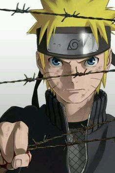 Naruto Uzumaki - doesn't that.... Hurt? Like they put that That there for a reason... No? Okay...
