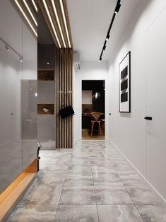 Home Room Design, Home Interior Design, House Design, Home Entrance Decor, House Entrance, Contemporary Interior Design, Modern Kitchen Design, Wooden Wall Design, Condominium Interior
