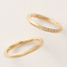 Bridal Bands, Wedding Bands, Gold Ring Designs, Couple Rings, Bridal Jewelry, Gold Rings, Jewelry Design, Rose Gold, Engagement Rings