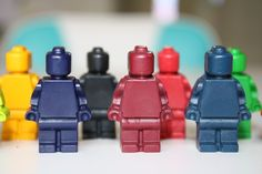 Lego Crayons... Ordering these for my son's Lego Birthday party!
