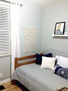 DIY Macrame Wall Hanging Using Mop Refill