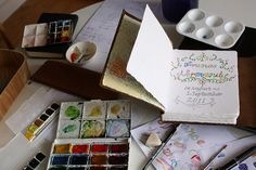 Normandy Travel Journal - First Page   by noriko.stardust