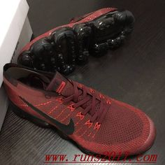 Nike Air VaporMax Flyknit Wine Black