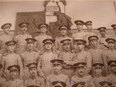 UNICA FOTOGRAFIA ORIGINAL HISTORIA MILITAR MILITARES ACADEMIA INFANTERIA PROMOCION CA. 1918/22