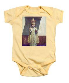 Infant of Prague Onesie with Photography by Louisiana's Catholic Cajun Creole Photographer