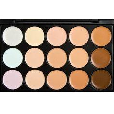 Palette Professionnelle Contouring et Anticernes Visage Camouflage Highlight Contour beaute-beauty.com #contouring #palette #makeup #maquillage #contour #beauty #tips 24,90 EUR