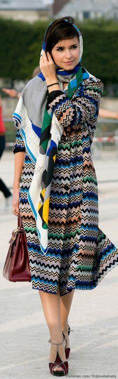Miroslava Duma | Street Style Paris