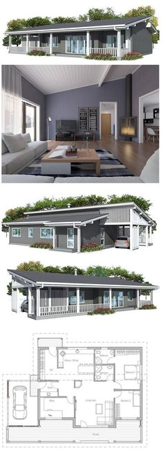 Take out the office and garage and it is a tiny home!