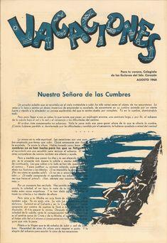 A Coruña : Colexio das Esclavas do Sagrado Corazón de Xesús] , D.L. 1961- Calligraphy, Movies, Movie Posters, Art, Sacred Heart, Schoolgirl, Empire, Vacations, Sky