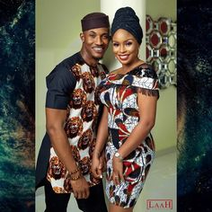 We bring you Isiagu Style Combinations for couples as showcased by our Igbo bride and grooms. Isiagu attire is also used to create lovely wedding dresses. Couples African Outfits, African Attire, African Wear, African Dress, African Women, African Inspired Fashion, African Print Fashion, African Fashion Dresses, Igbo Bride