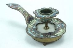 Early 20th Century French Champleve Enamel Bronze
