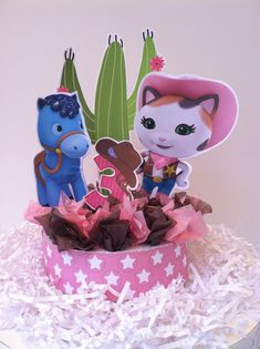 Sheriff Callie Cake Topper by BabycakesCakeToppers on Etsy