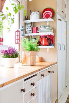 Kitchen Cart, Diy Kitchen, Kitchen Cabinets, Kitchen Ideas, Updated Kitchen, Kitchen Updates, Monet, Home Kitchens, Sweet Home
