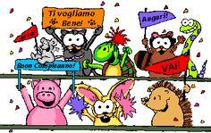 frasi e immagini animate per augurare buon compleanno - Cerca con Google