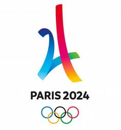 Can we just take a minute to appreciate the Paris 2024 Summer Olympics logo? A couple of simple lines and we have the Eiffel Tower and the colours of the Olympic rings. Olympic Logo, Olympic Sports, Olympic Games, Summer Games, Winter Games, Club Paris, First Class Hotel, Vs The World, Look Girl