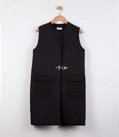 NOMIA Quilted Long Vest