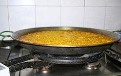 "El Mundo de Pepe Hermano: RECETARIO ""COCINILLAS"" (II) ARROZ A BANDA Seafood Paella, Rice, Sash, Brother, Cooking"