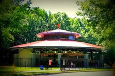 """""""The Carousel"""" at Willowbrook Park, Staten Island."""