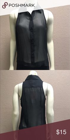 """NWT BCBGENERATION sleeveless top Fabric 100% polyester  Center back to hem  28"""" Bust 32"""" Measurements taken with item laying flat Item t-401 Buy 3 items of in the 400's item numbers for $36 - save on each item and shipping BCBGeneration Tops Blouses"""