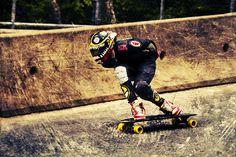 Downhill longboarding #longboard