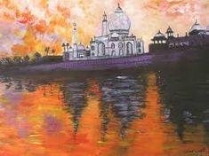 Taj Mahal, Opera, Painting, Art, Art Background, Opera House, Painting Art, Kunst, Paintings