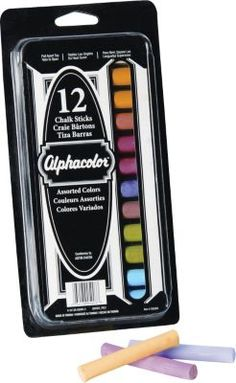 #HOMESCHOOLING  #STAPLES    ...Shop Staples® for Alphacolor® Chalk Sticks, Assorted Colors, 8 Colors, 12/Pack and enjoy everyday low prices. Get everything you need for a home office or business right here.  =)