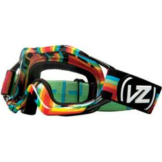 VonZipper Bushwick XT Adult Dirt Bike Motorcycle Goggles Eyewear Double Rainbow One Size Fits All Adult Dirt Bike, Motorcycle Goggles, Rainbow Fashion, Oakley Sunglasses, One Size Fits All, Eyewear, Bags, Accessories, Handbags