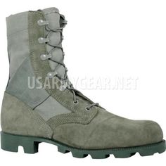 0dc05196ecc8 Altama Made in USA Air Force Foliage Sage Green Jungle Combat Boots, Panama  Soles |. US Army Gear