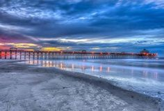 Folly Beach Pier, South Carolina
