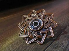 Check out Celtic Lotus - Fidget Hand Spinner by braindeef on Shapeways and discover more 3D printed products in Desk Toys.