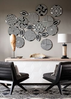 """Ruandas """"One & Only Nyungwe House"""" Home Decor Wall Art, Art Decor, Room Decor, Goth Home Decor, African Home Decor, Interior Decorating, Interior Design, Diy Home Crafts, Baskets On Wall"""