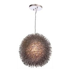 Fab.com | Urchin Pendant Chrome