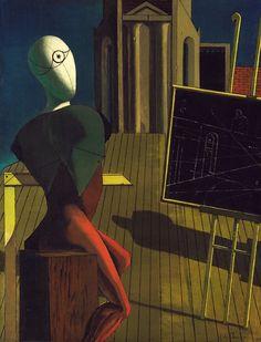 The Seer (1915) by Giorgio de Chirico.