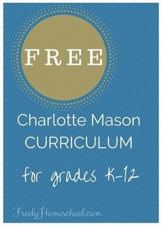 Our homeschooling family's favorite curriculum is this Charlotte Mason based, literature-rich curriculum from Ambleside Online. And it's free!