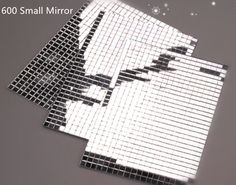 150/600 small Silver Self-Adhesive Mirror. The complete sheet measures 100mm x 150mm. Perfect for mirror balls, card making and scrapbooking. One of sheet 600/150 small mirrors. •he product is in the same condition as how you received it. | eBay!