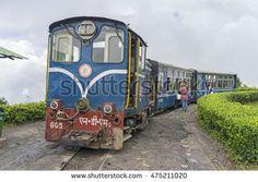 DARJEELING, INDIA - Aug 5,2016 : The Darjeeling Himalayan Railway, is a 2 ft narrow-gauge railway from Siliguri to Darjeeling in Darjeeling, India.